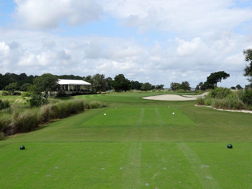 17th Hole at Sea Island Golf Club (Seaside) (176 Yard Par 3)