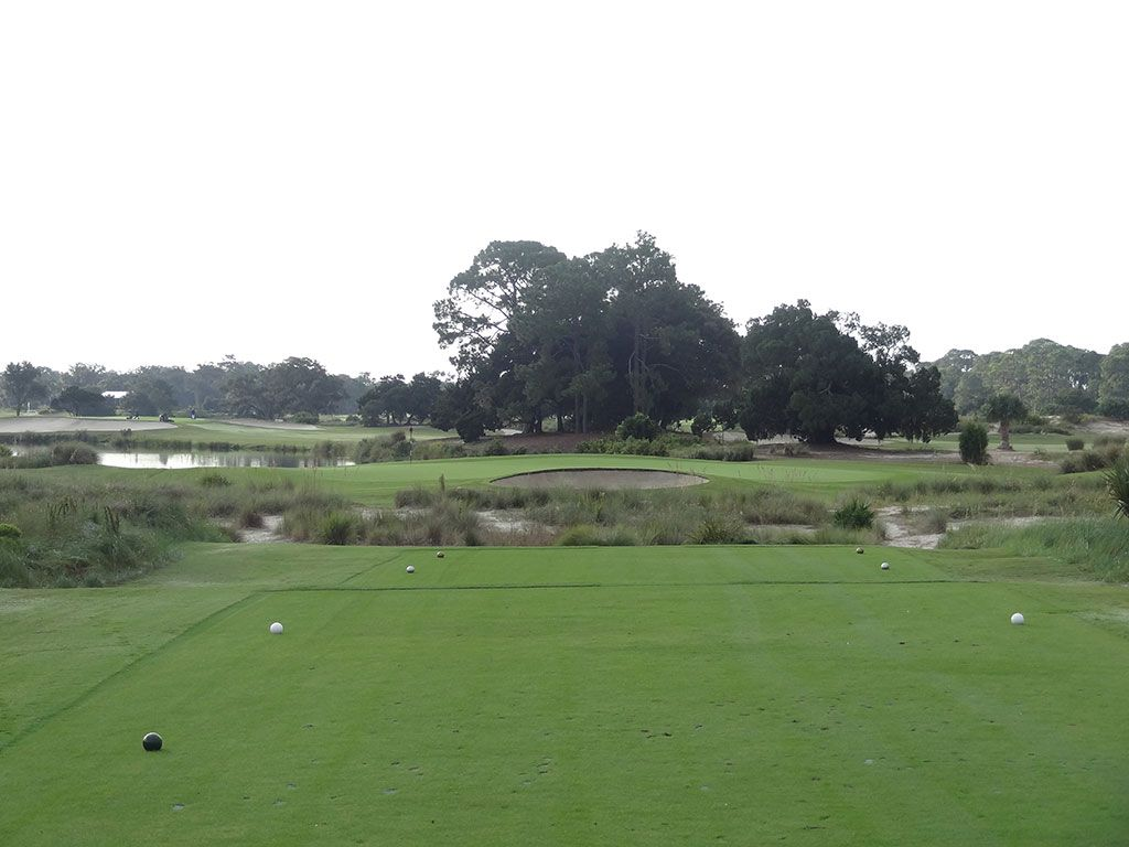 6th Hole at Sea Island Golf Club (Seaside) (164 Yard Par 3)