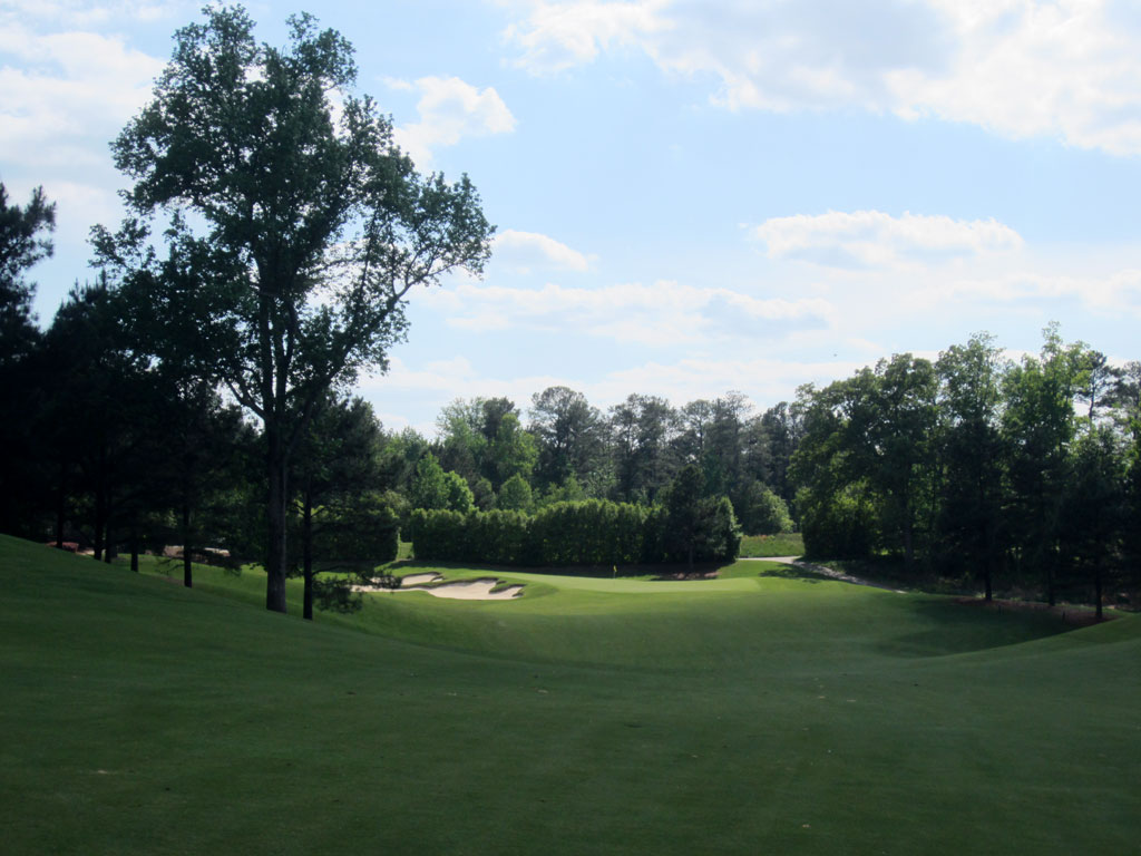 9th Hole at The Standard Club (475 Yard Par 4)