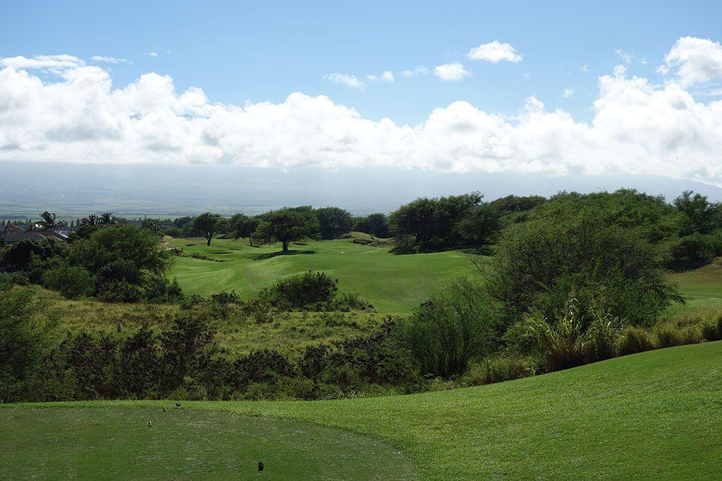 15th Hole at Dunes at Maui Lani, The (428 Yard Par 4)