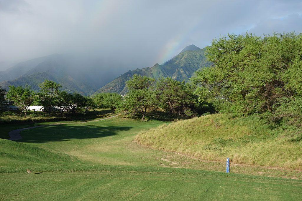 3rd Hole at Dunes at Maui Lani, The (145 Yard Par 3)