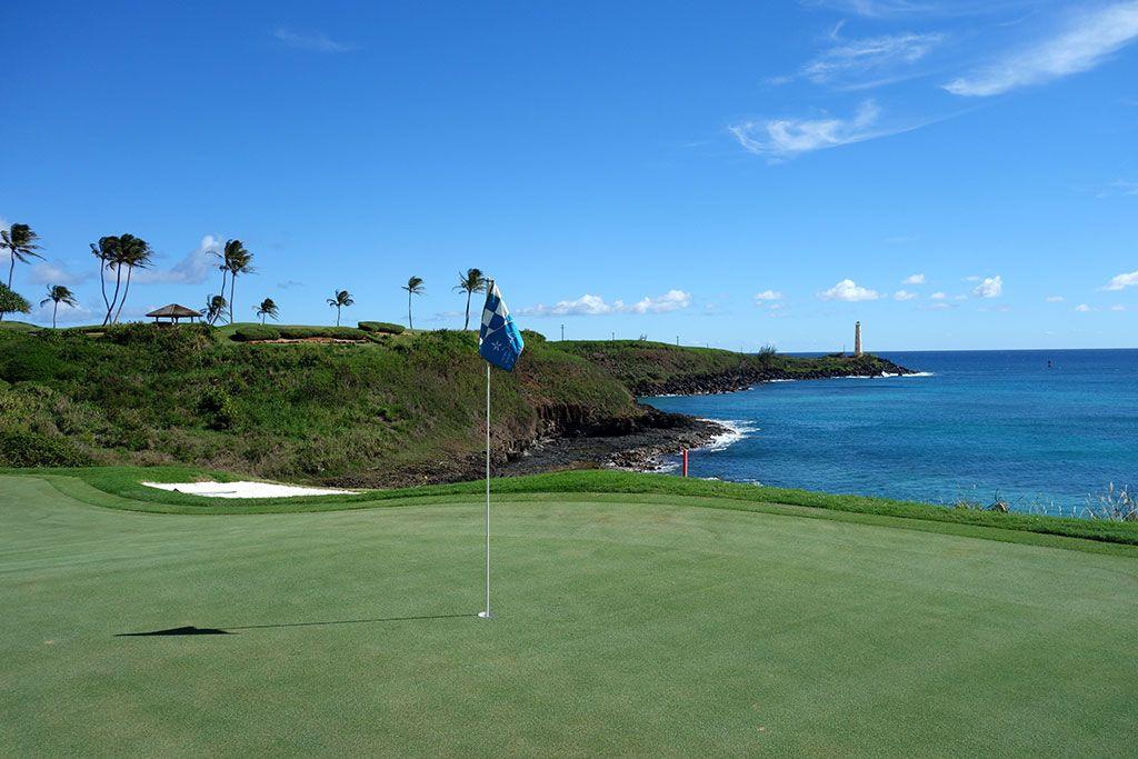 14th Hole at The Ocean Course at Hokuala (210 Yard Par 3)