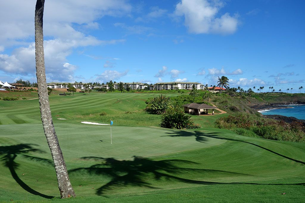 15th Hole at Hokuala, The Ocean Course at (473 Yard Par 4)