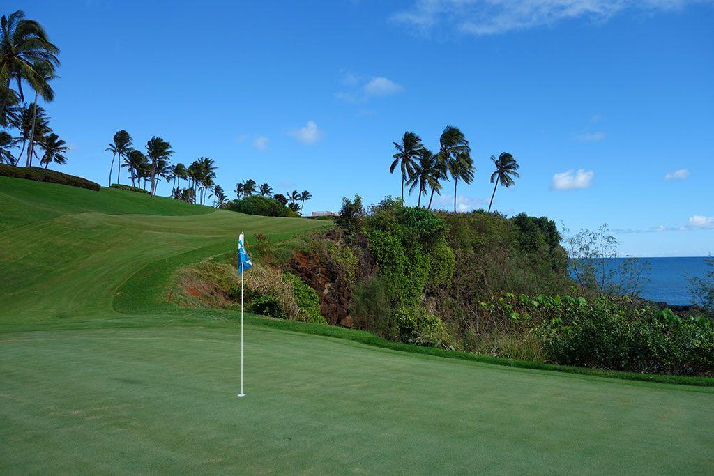16th Hole at The Ocean Course at Hokuala (331 Yard Par 4)