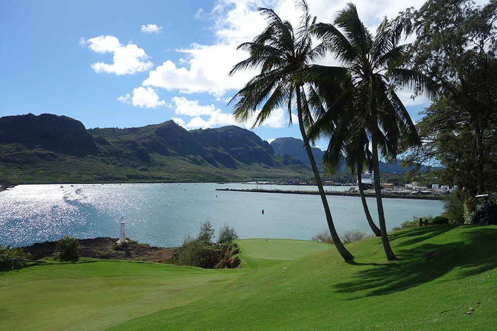 16th Hole at Hokuala, The Ocean course at (331 Yard Par 4)