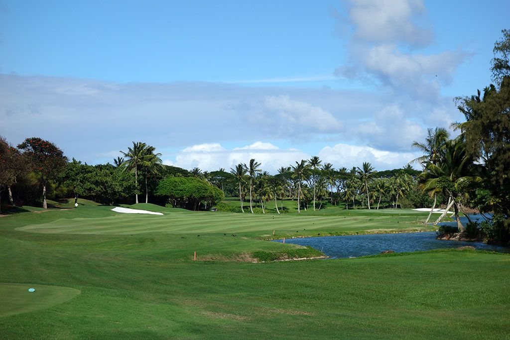 18th Hole at The Ocean Course at Hokuala (459 Yard Par 4)