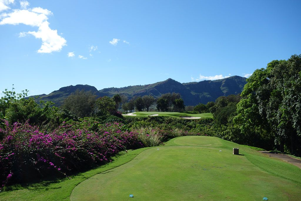 5th Hole at The Ocean Course at Hokuala (219 Yard Par 3)
