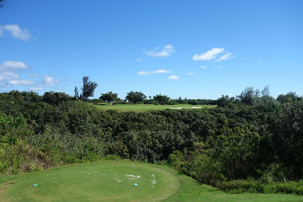 6th Hole at The Ocean Course at Hokuala (519 Yard Par 5)