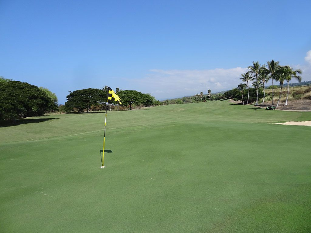 12th Hole at The Club at Hokuli'a (361 Yard Par 4)