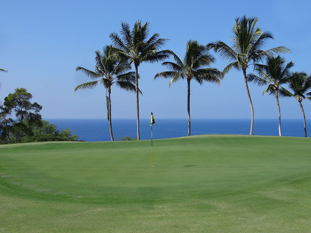 15th Hole at The Club at Hokuli'a (487 Yard Par 4)