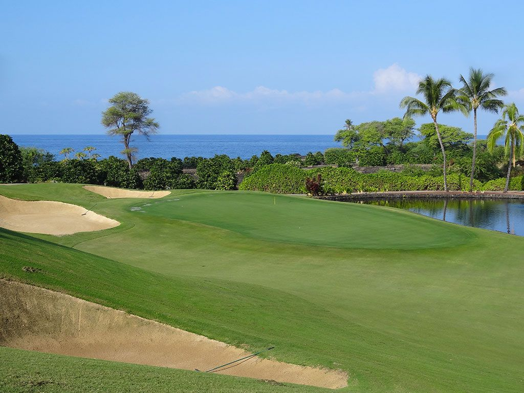 2nd Hole at The Club at Hokuli'a (482 Yard Par 4)