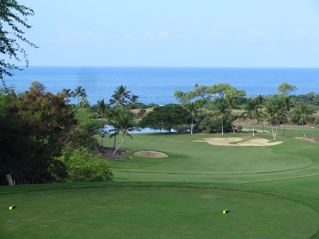 2nd Hole at Hokulia Golf Club (482 Yard Par 4)