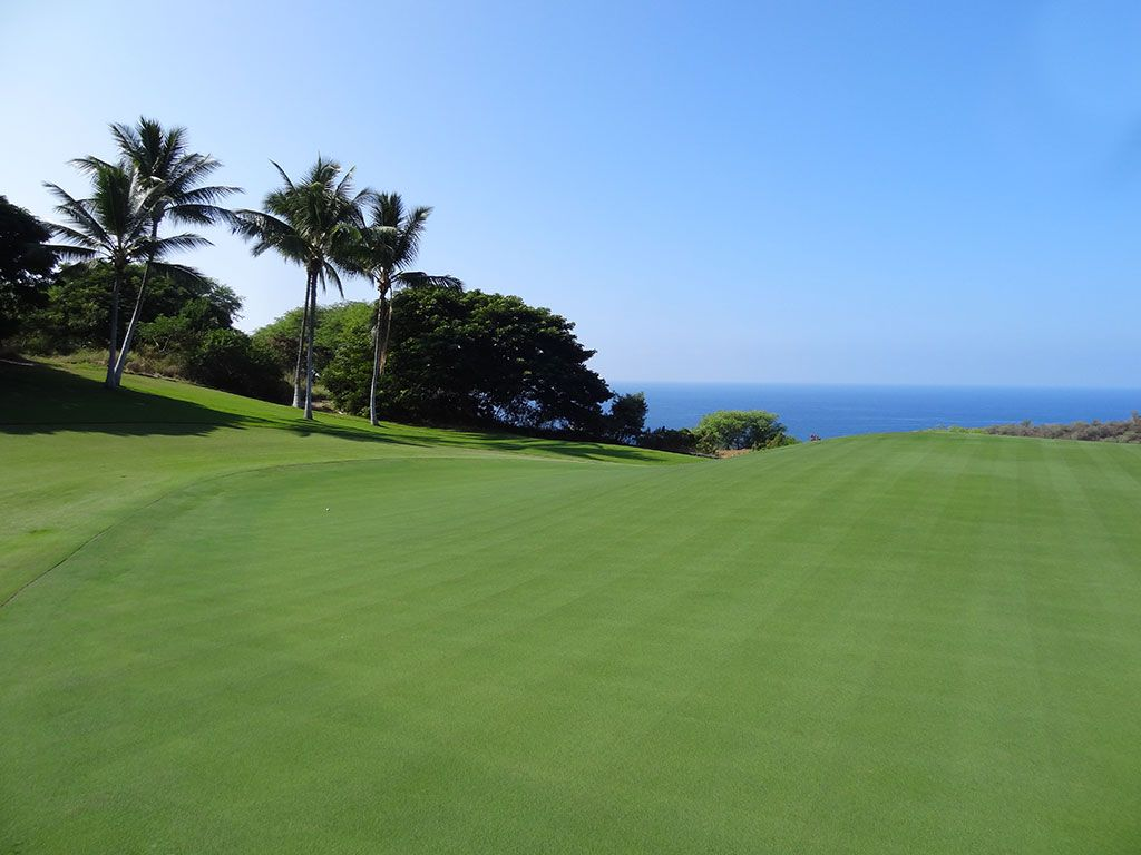 9th Hole at The Club at Hokuli'a (525 Yard Par 5)