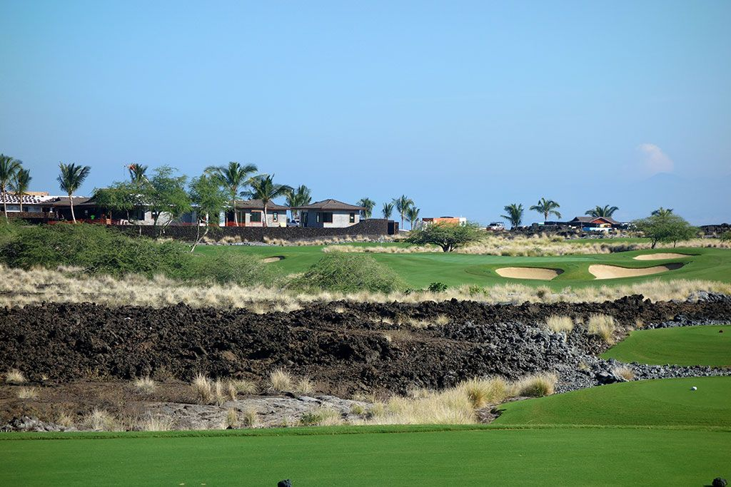 11th Hole at Hualalai Golf Club (Ke'olu) (219 Yard Par 3)