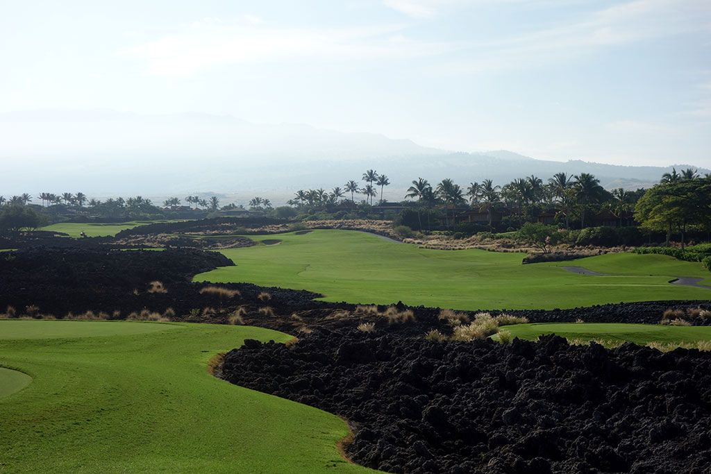 8th Hole at Hualalai Golf Club (Ke'olu) (465 Yard Par 4)