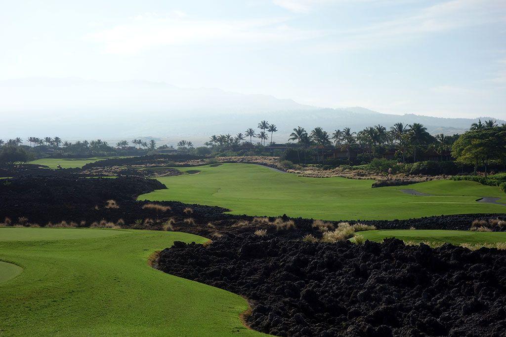 8th Hole at Hualalai Golf Club (Keolu) (465 Yard Par 4)