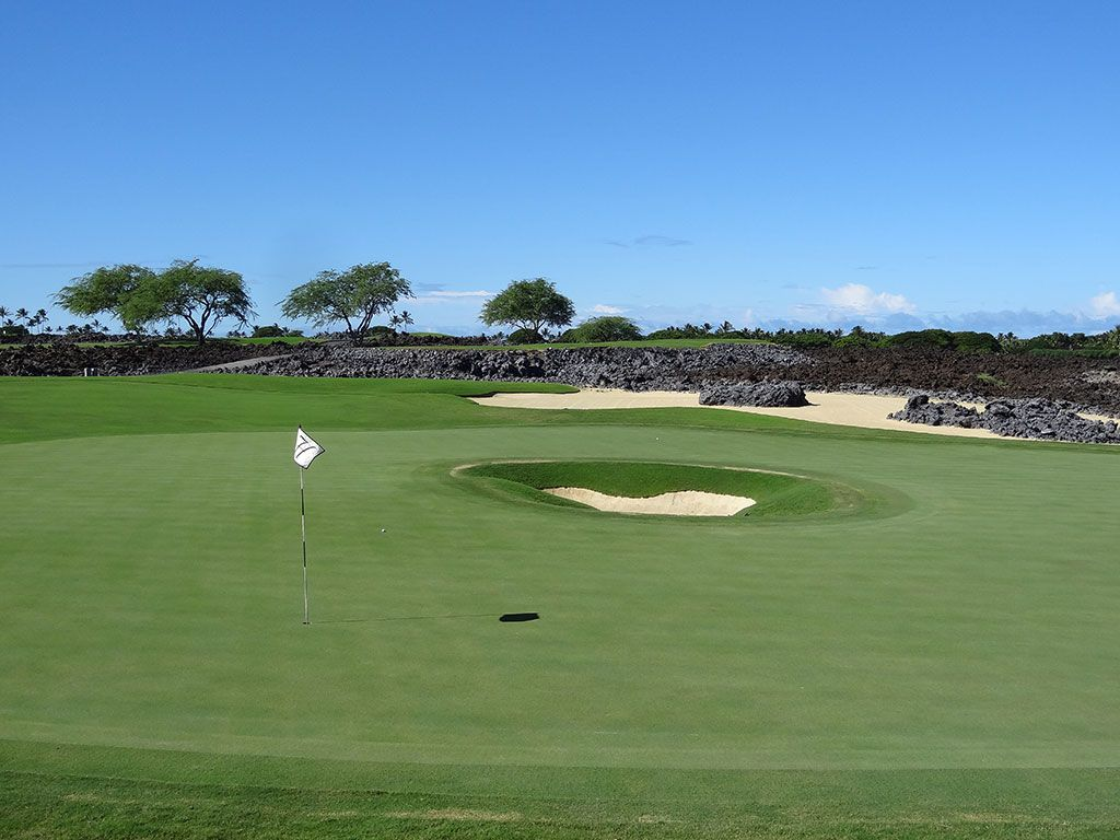 12th Hole at Hualalai Golf Club (Nicklaus) (167 Yard Par 3)
