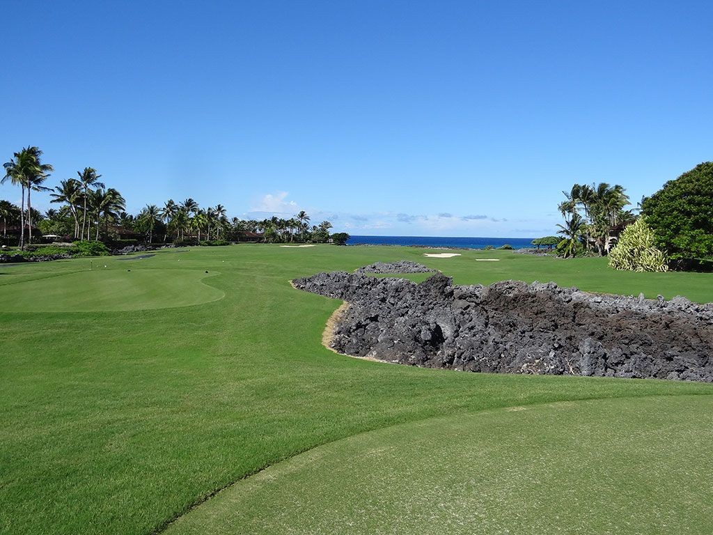 16th Hole at Hualalai Golf Club (Nicklaus) (440 Yard Par 4)