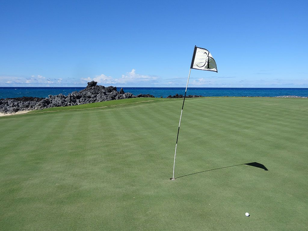 17th Hole at Hualalai Golf Club (Nicklaus) (164 Yard Par 3)