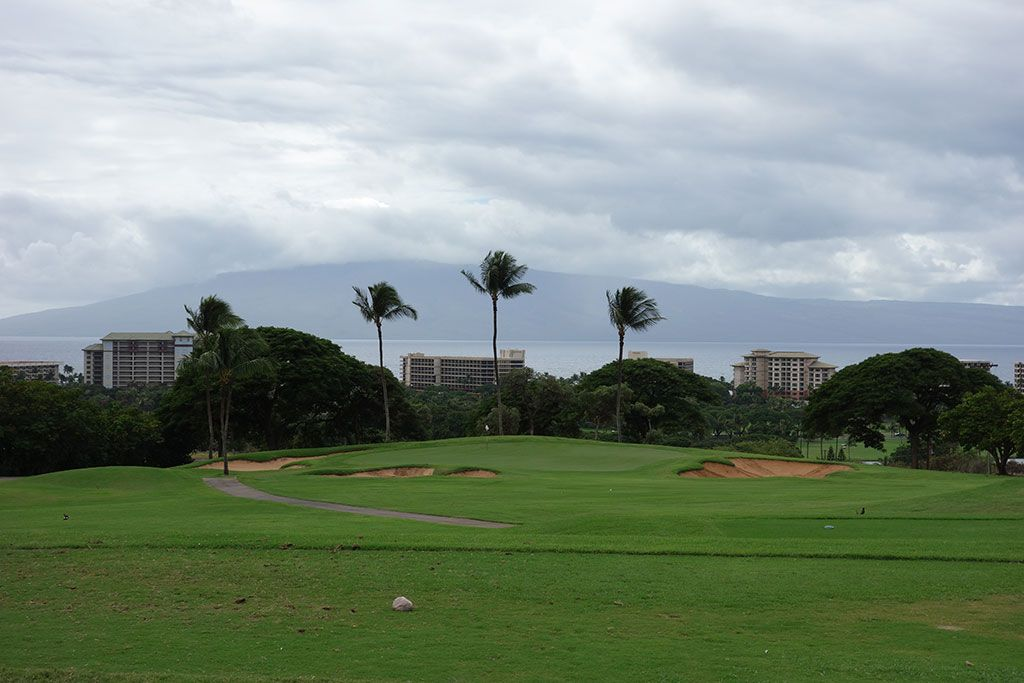 11th Hole at Ka'anapali Kai Golf Course (182 Yard Par 3)