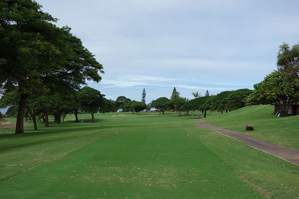 12th Hole at Ka'anapali Kai Golf Course (558 Yard Par 5)