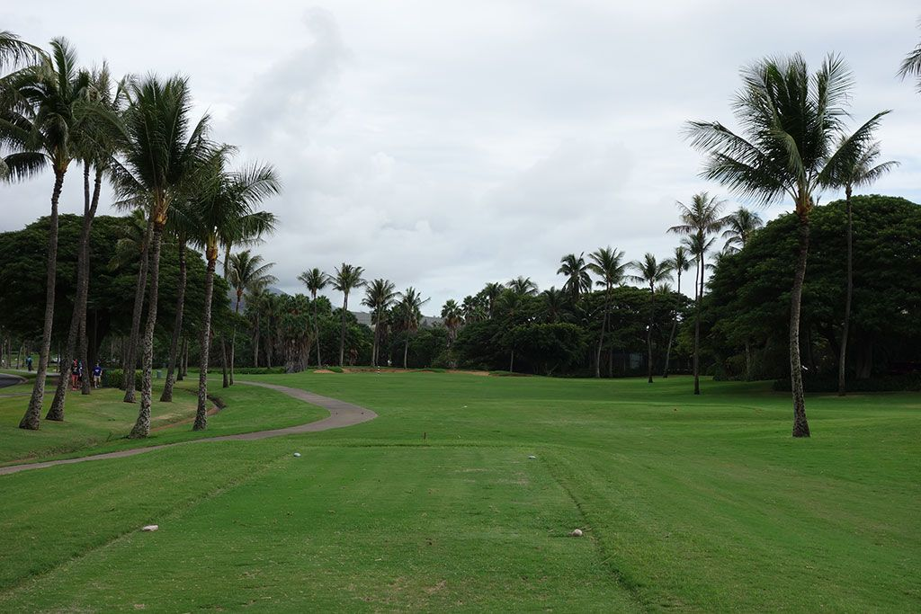 18th Hole at Ka'anapali Kai Golf Course (348 Yard Par 4)