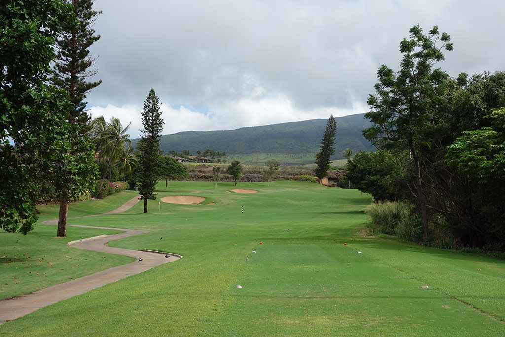 4th Hole at Ka'anapali Kai Golf Course (308 Yard Par 4)