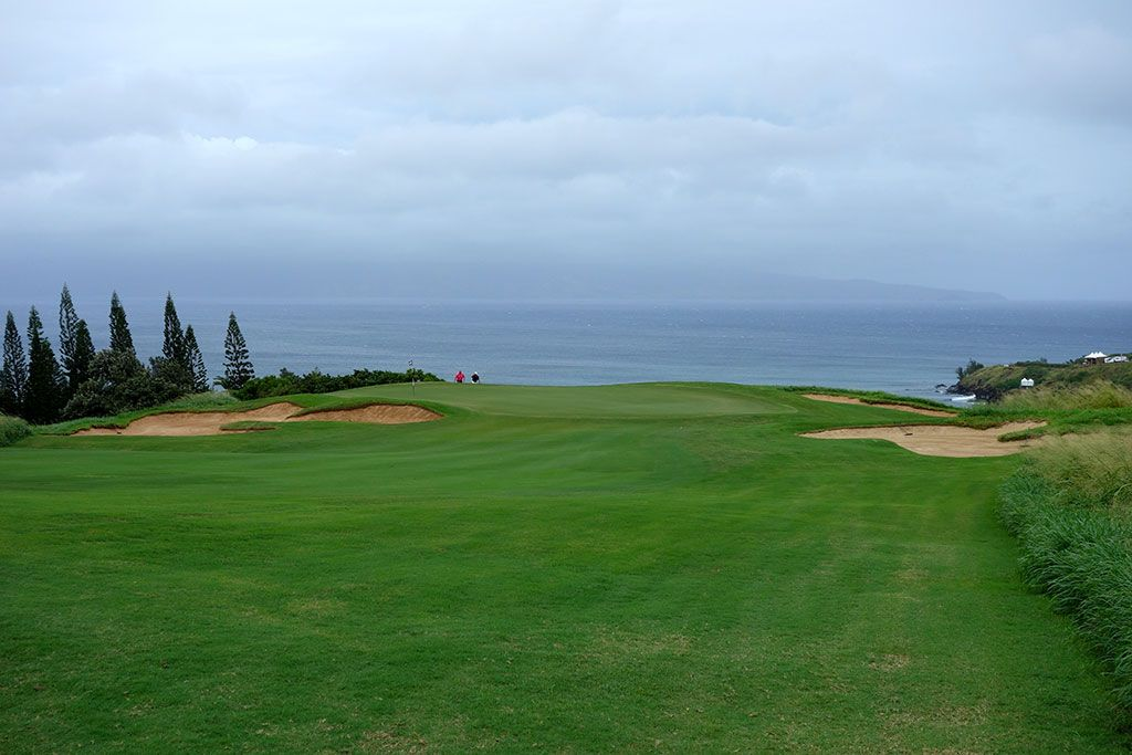 11th Hole at Kapalua Plantation (164 Yard Par 3)