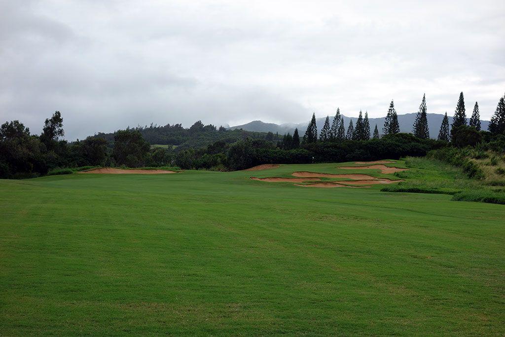 14th Hole at Kapalua Resort (Plantation) (305 Yard Par 4)
