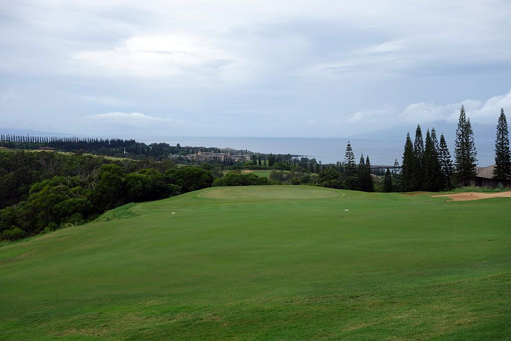17th Hole at Kapalua Plantation (508 Yard Par 4)