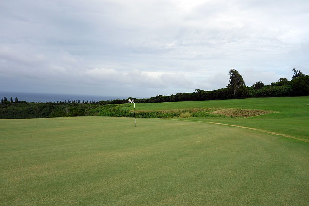 5th Hole at Kapalua Plantation (532 Yard Par 5)