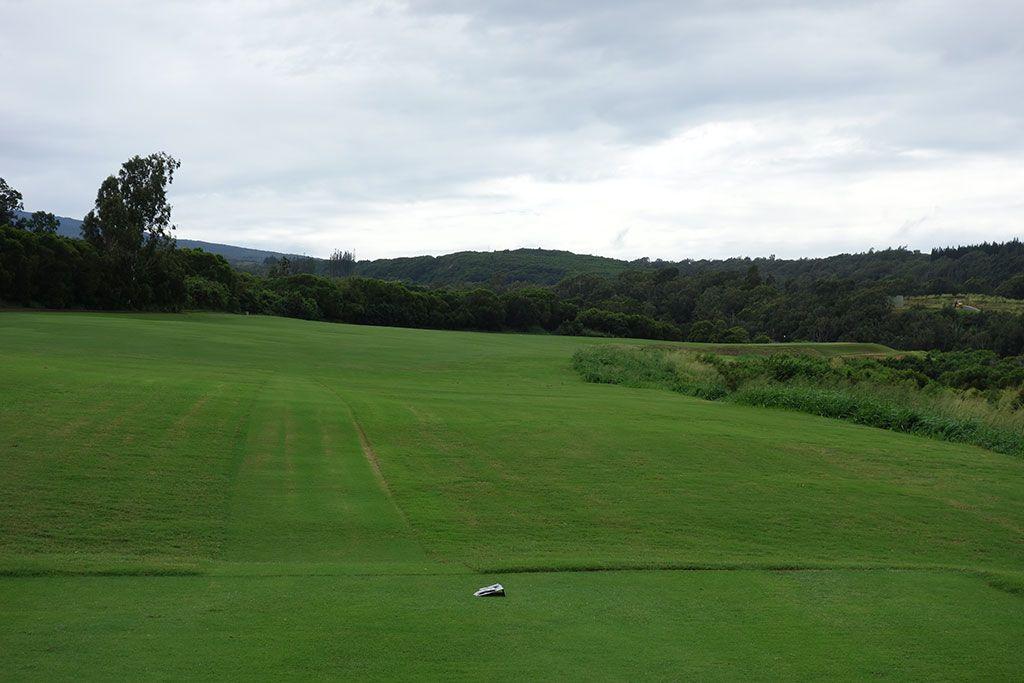 5th Hole at Kapalua Plantation (532 Yard Par 5)
