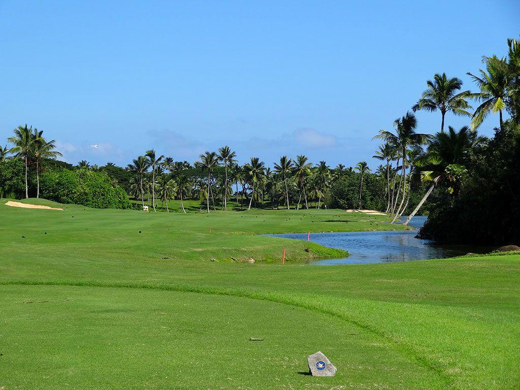 18th Hole at Hokuala Resort (Ocean) (459 Yard Par 4)