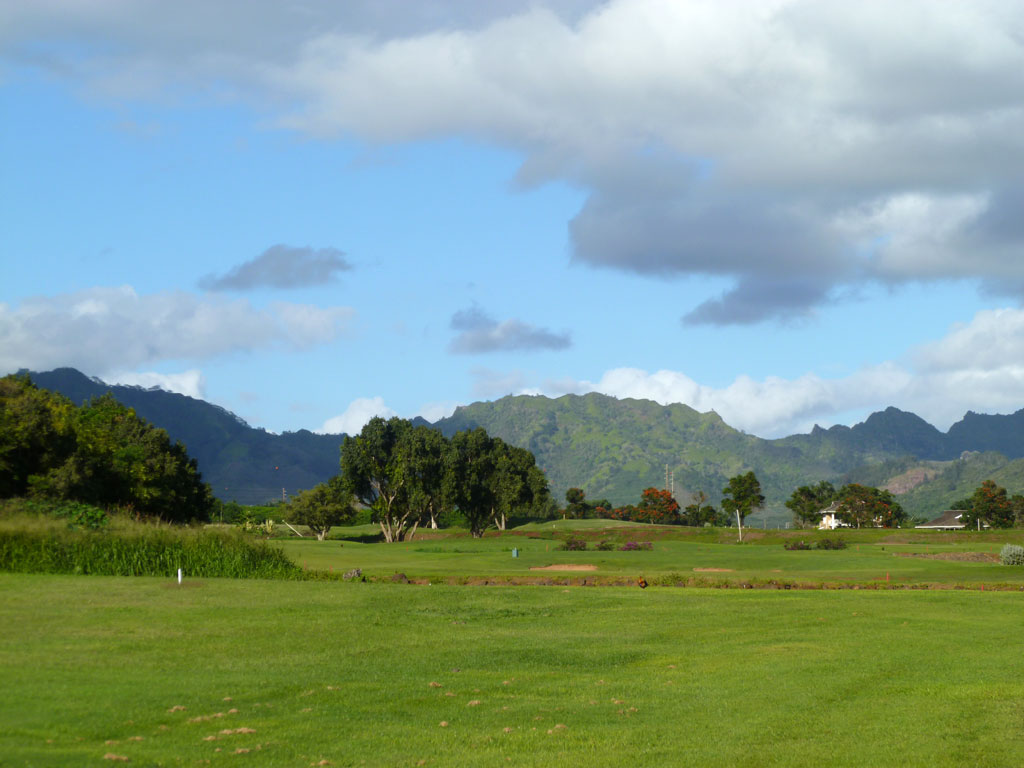 13th Hole at Kiahuna (390 Yard Par 4)