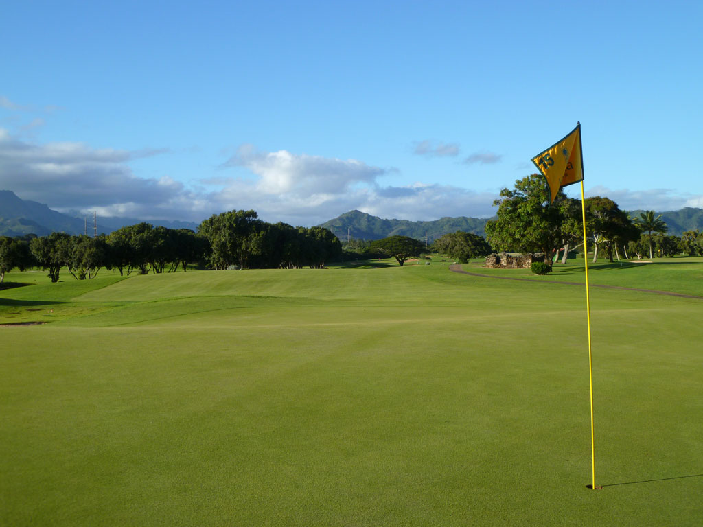 15th Hole at Kiahuna Golf Club (543 Yard Par 5)
