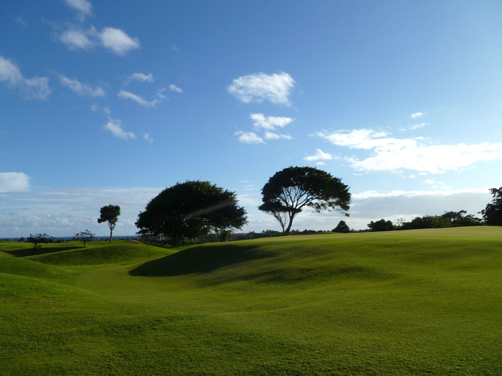 15th Hole at Kiahuna (543 Yard Par 5)