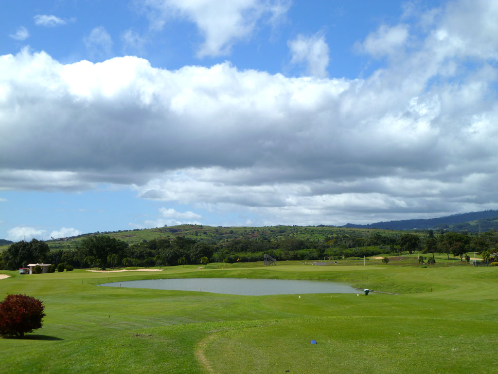 3rd Hole at Kiahuna Golf Club (203 Yard Par 3)