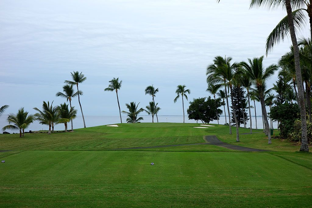 12th Hole at Kona Country Club (189 Yard Par 3)