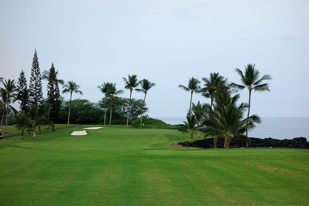 3rd Hole at Kona Country Club (218 Yard Par 3)