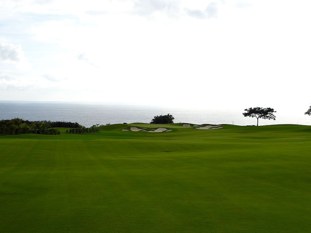 13th Hole at Kukui'ula Golf Club (506 Yard Par 5)