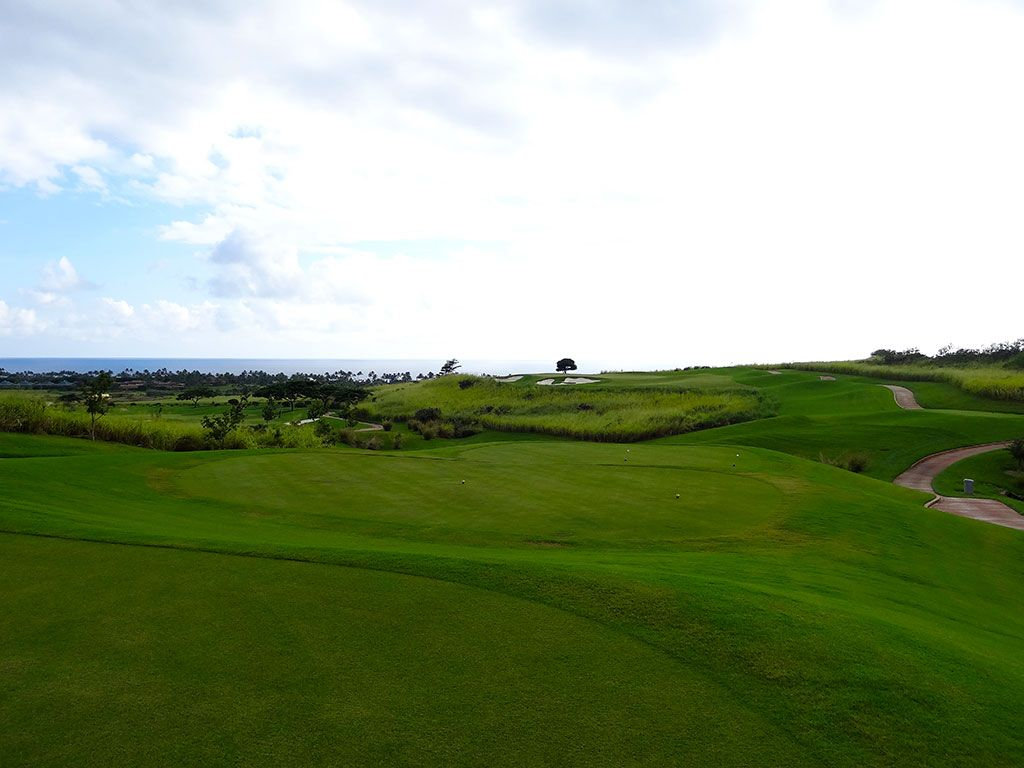 8th Hole at Kukui'ula Golf Club (223 Yard Par 3)