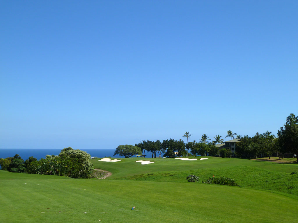 13th Hole at Makai Golf Club (255 Yard Par 3)