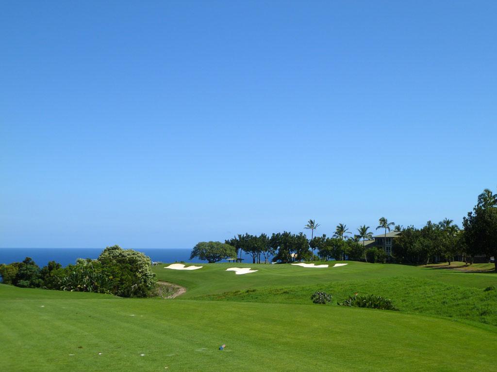 13th Hole at Makai Golf Club at Princeville (255 Yard Par 3)