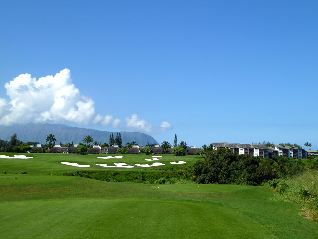 14th Hole at Makai Golf Club (338 Yard Par 4)