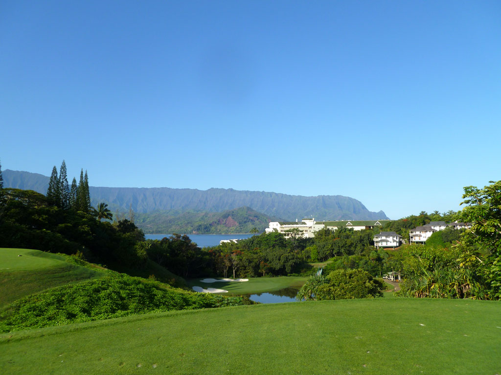 3rd Hole at Makai Golf Club (181 Yard Par 3)