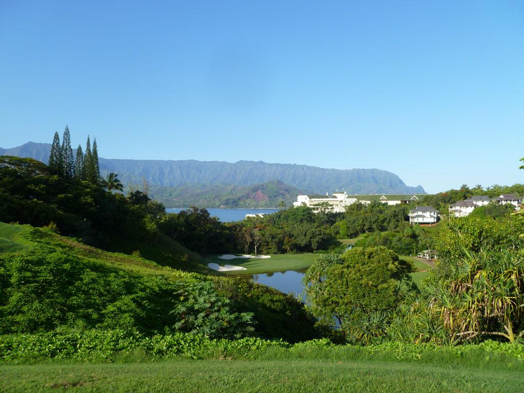 3rd Hole at Makai Golf Club at Princeville (181 Yard Par 3)
