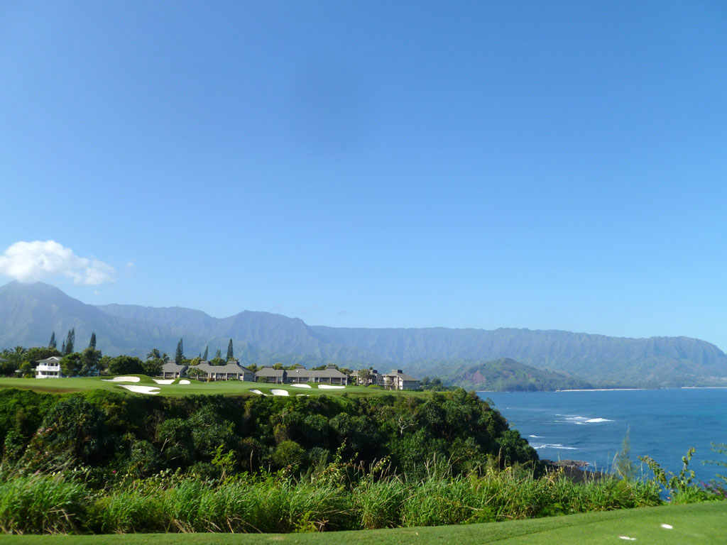 7th Hole at Makai Golf Club (213 Yard Par 3)