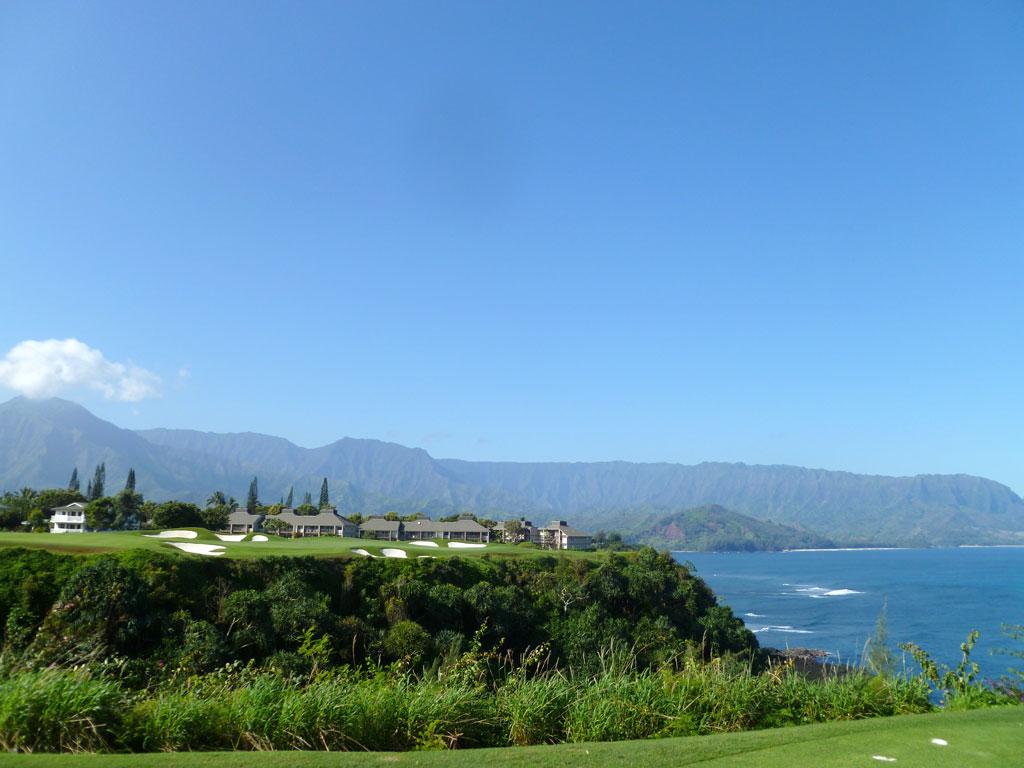 7th Hole at Makai Golf Club at Princeville (213 Yard Par 3)