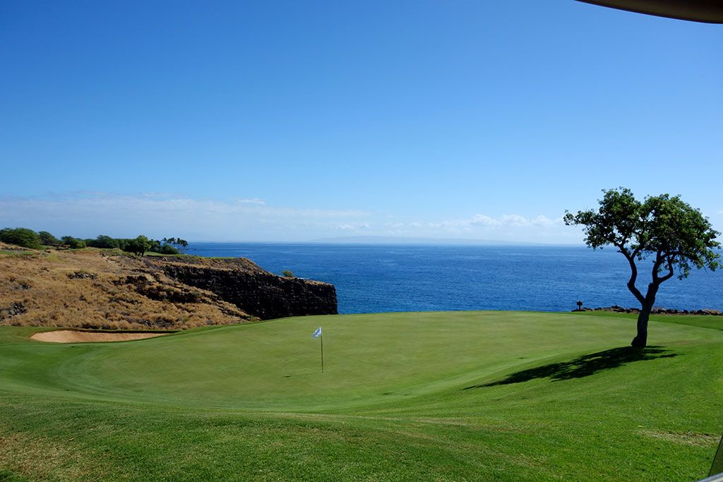 12th Hole at Manele Golf Course (202 Yard Par 3)
