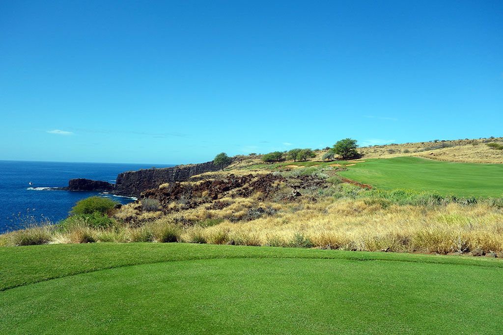 13th Hole at Manele Golf Course (345 Yard Par 4)